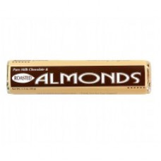 1.5 oz Milk Chocolate with Roasted Almonds Bars